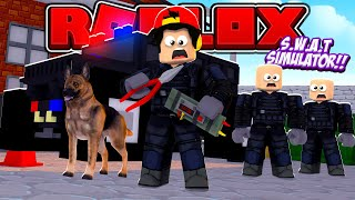 ROBLOX - BECOMING THE HIGHEST RANKED S.W.A.T OFFICER!!