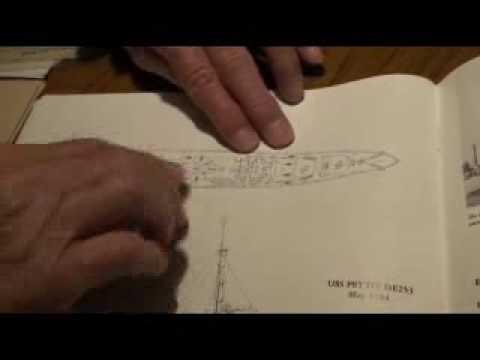 USS Koiner Destroyer Escort examined by Fred Garvin World War II