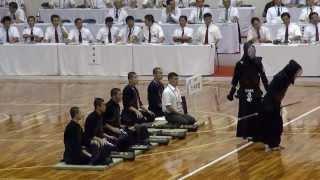 九州学院 悲願の優勝 残り7秒で逆転 インターハイ剣道2013