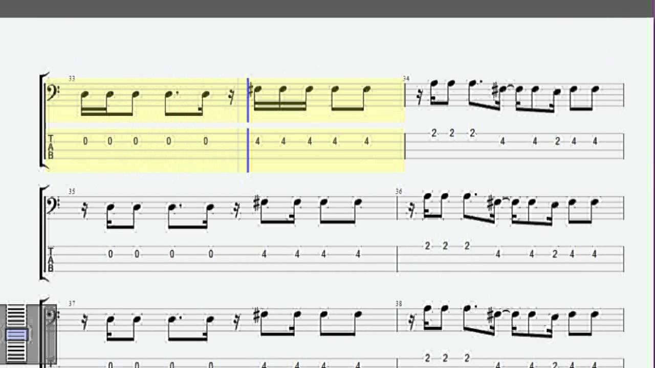 Populaire Wonderwall Oasis Bass Tab - YouTube OK56