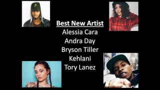 Download Video REFRESHER:  BET Awards 2016 Nominees (CHECK VIDEO & DESCRIPTION) Airs LIVE 6/26/16 MP3 3GP MP4