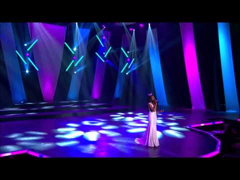 Jasmine Murray farewell and What a Wonderful World - Miss MS 2015