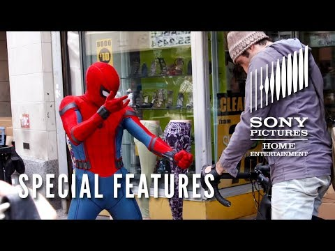 """SPIDER-MAN: HOMECOMING - SPECIAL FEATURES """"Spidey Moves"""" Now on Blu-ray"""