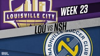 Louisville City FC vs Nashville SC: August 18, 2018