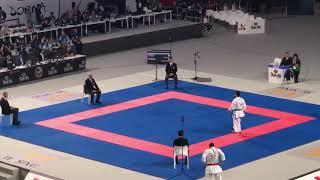 Ali Sofuglu(TUR) vs Antonio Diaz(VEN) Repechage Final WKF World Karate Championships 2018 Male Kata