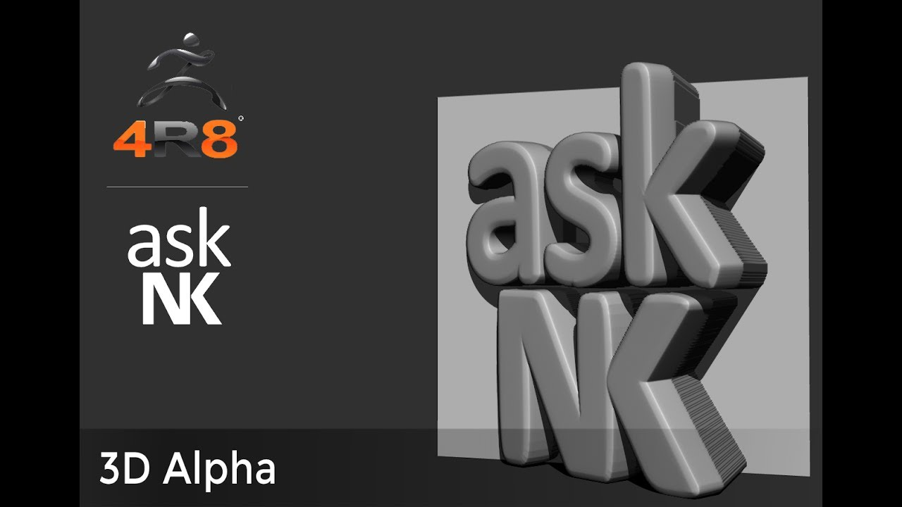 Zbrush 4R8 - 3D Alpha on zbrush create alpha brush, cobblestone displacement maps, zbrush seam alpha brush, zbrush alpha metal, zbrush alpha library,