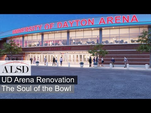 Visit The University Of Dayton Arena Renovation - Home Of The Dayton Flyers And The NCAA First Four
