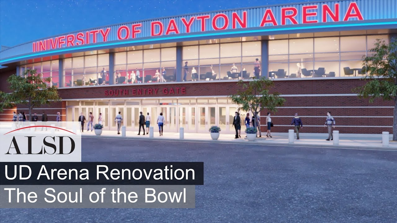 Visit The University Of Dayton Arena Renovation Home Of The Dayton Flyers And The Ncaa First Four