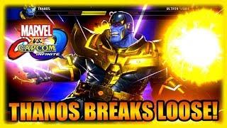 Thanos Breaks Loose! Marvel Vs Capcom Infinite - PC Ultra Gameplay Part 4