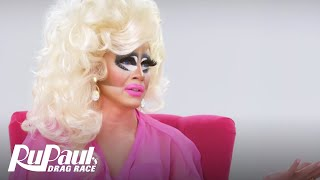 The Pit Stop w/ Raja & Trixie Mattel | RuPaul's Drag Race All Stars Recap (Season 2 Ep 6) | Logo