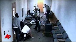 Raw Video: Brawl Erupts at Murder Trial