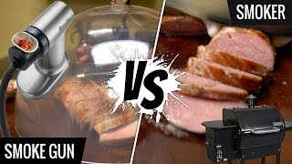SMOKE GUN vs SMOKER! What's best for SOUS VIDE Cooking?