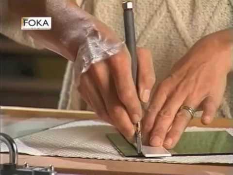 Bekend FOKA Instructie glas snijden - YouTube VW72