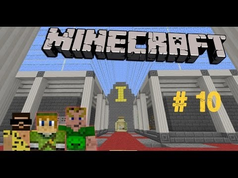 MINECRAFT Adventure-Map # 10 - PSC Piet's & Sylar's Obstacle Course «» Let's Play Minecraft | HD