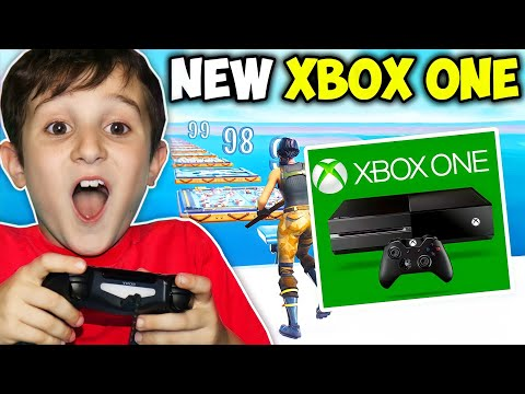 KID GETS XBOX ONE IF BEATS DEATHRUN!!! - Fortnite