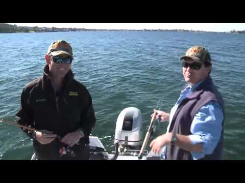 Tailor, Bream, Squid and Flathead Fishing on LAKE MACQUARIE