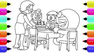 Happy Birthday Party in Nobita