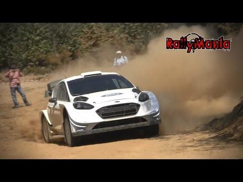 Test Ott Tanak Ford Fiesta WRC Mort gua 2017 HD