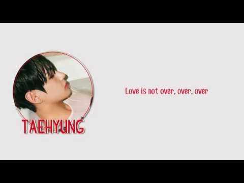BTS (방탄소년단) – Outro:Love is Not Over lyrics [Eng/Rom/Han/Color Coded]