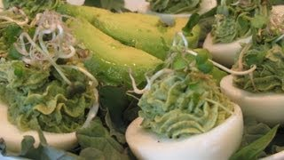 ~avocado Deviled Eggs~