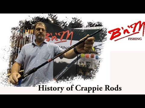 History Of Crappie Rods Featuring B'n'M Poles Owner Jack Wells