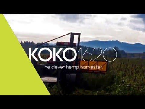 Hemp harvester - KOKO 1620