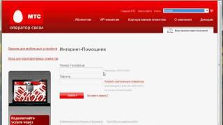 Интернет-помощник МТС.ру (8/12)