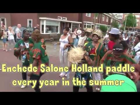 Sierra Leonean Enschede Holland Paddle 2014 official