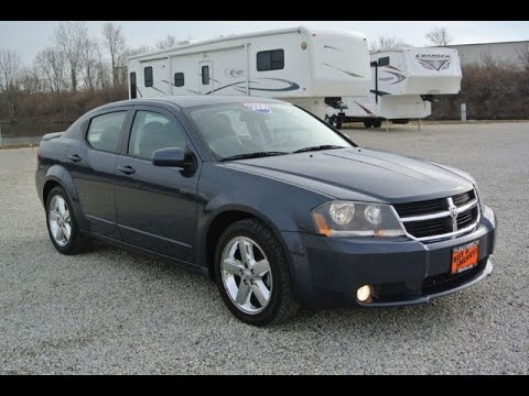 2008 dodge avenger r t for sale dayton troy piqua sidney ohio 27207a youtube. Black Bedroom Furniture Sets. Home Design Ideas