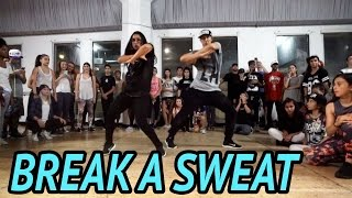 """BREAK A SWEAT"" - Becky G Dance 