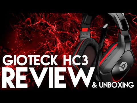 Headset Review | Gioteck HC3