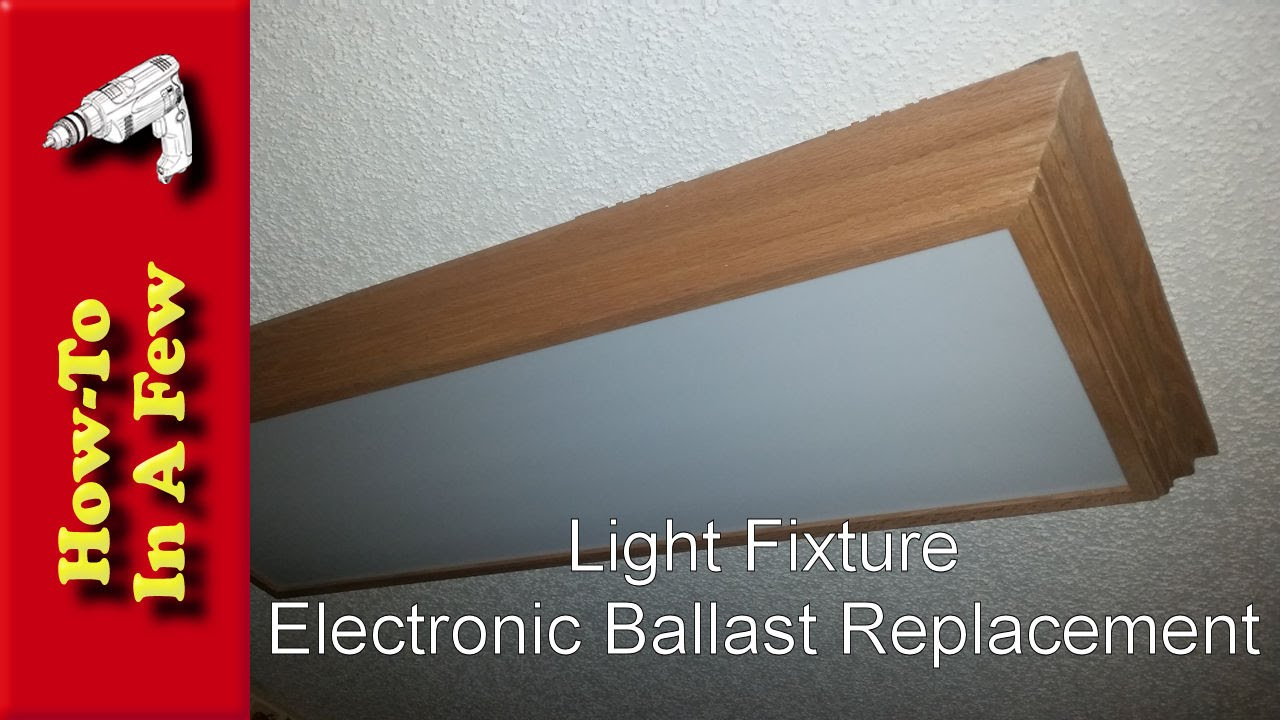 How To: Replace The Kitchen Light Ballast