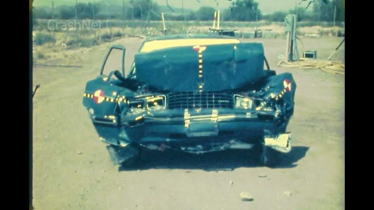 Ford Mustang 1979 Frontal Crash Test By Nhtsa