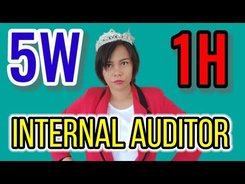 5W - 1H เพื่อให้รู้จัก Internal auditor ให้มากขึ้น   instant knowledge