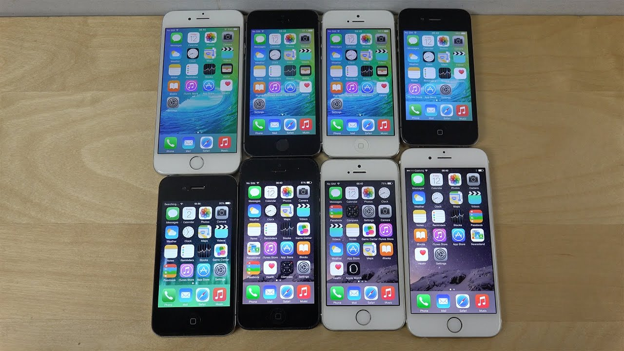 iOS 9 Beta vs. iOS 8.3: iPhone 6 vs. iPhone 5S vs. iPhone ...