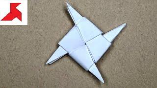 dIY – Как сделать метательную звездочку ниндзя из бумаги А4 своими руками?