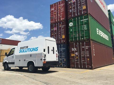 2017 Mercedes-Benz Sprinter drive to the Port of Charleston, South Carolina