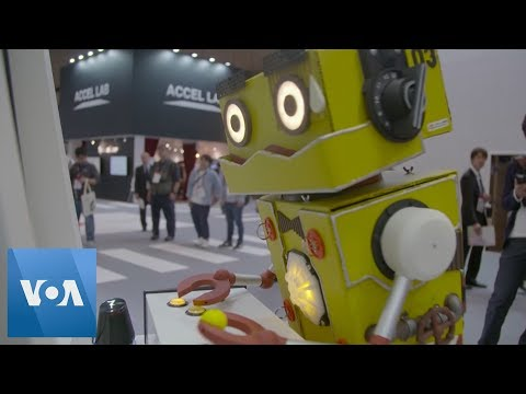 New Tech at Tokyo, Japan's CEATEC Trade Show