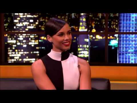 Alicia Keys Interview on The Jonathan Ross Show