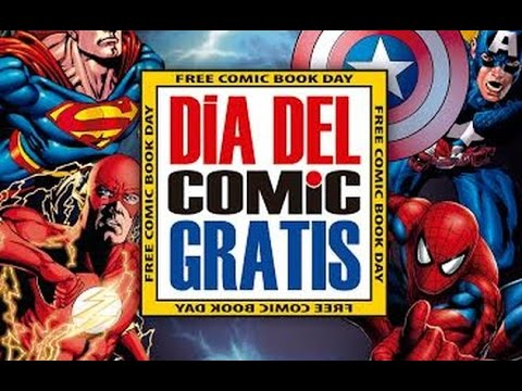 Dia del Comic Gratis Lima Peru  7-05-2016