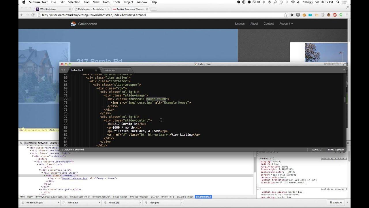 Bootstrap: 6 Fixating Image Size