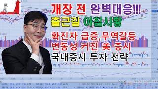 6월 25일 데일리 아침시황 확진자 급증 무역갈등 변동…