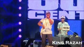 50 Cent at St. Kitts Music Festival 2016