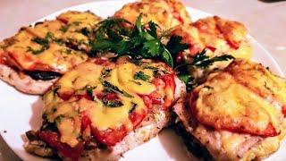 Мясо по французски из свинины цыганка готовит. Мясо по французски из курицы. Gipsy kitchen.