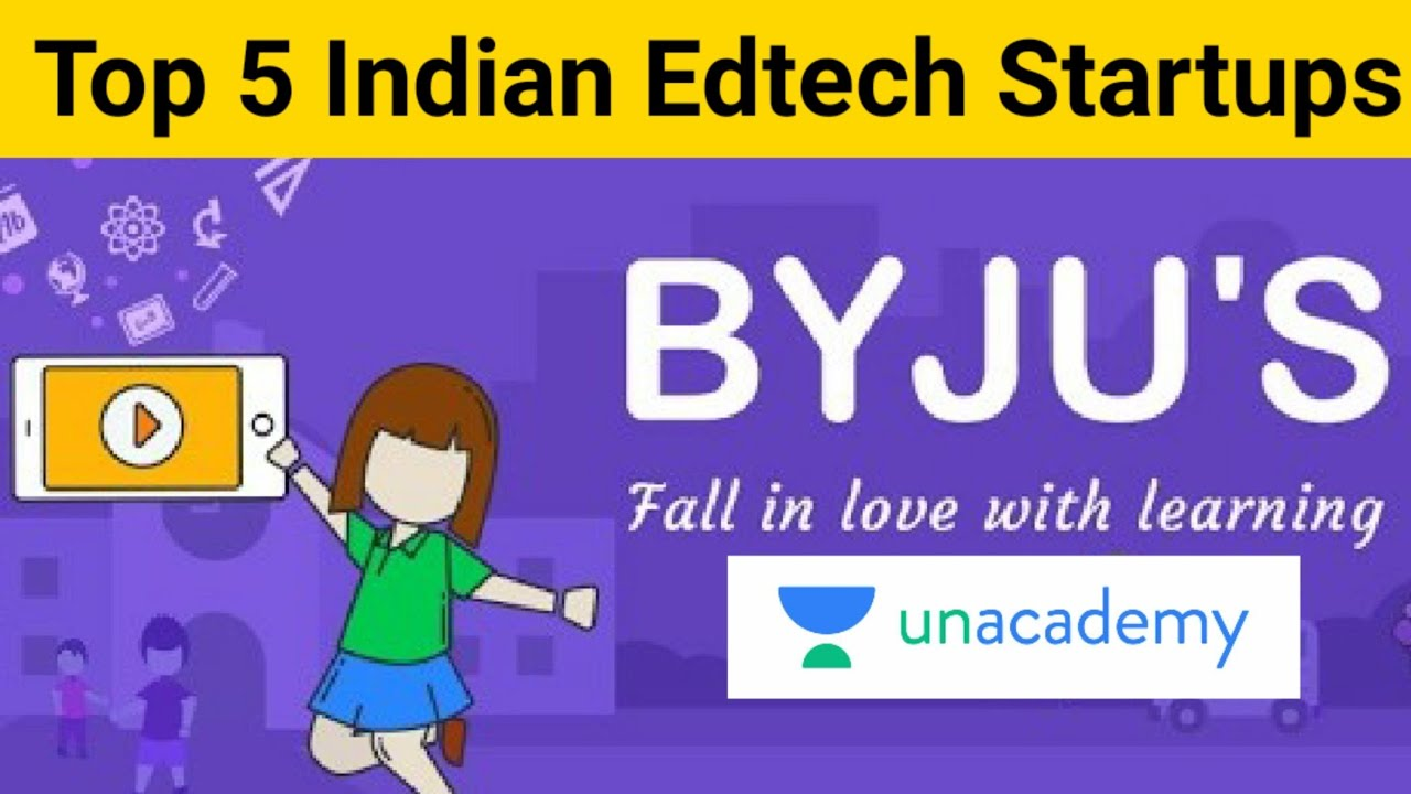Top 5 EdTech Startups in India | Top EdTech Companies in India | EdTech Startup Business Model