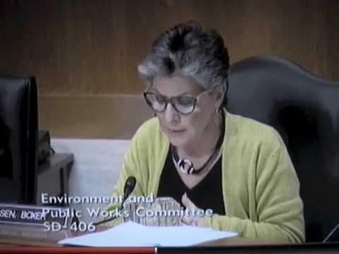 "Senator Boxer-EPW Hearing April 15, 2015 - NRC ""talking points"""