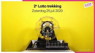 Lotto trekkingsuitslag 25 juli 2020