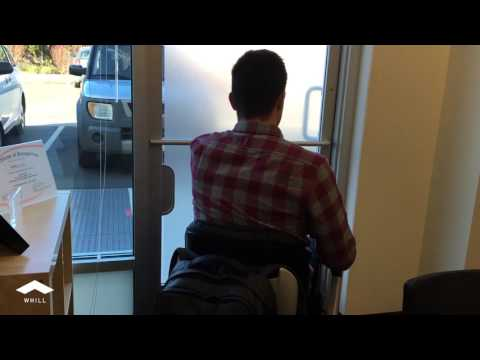 Navigating Tight Office Space w/ Ease - WHILL Model A