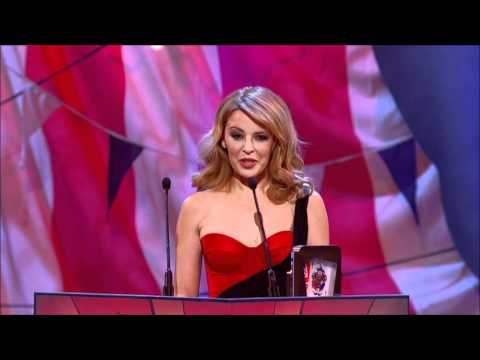 Kylie Minogue At British Comedy Awards