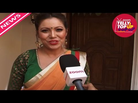 Munmun Dutta AKA Babita Ji's TRI COLOR Saree | #TellyTopUp
